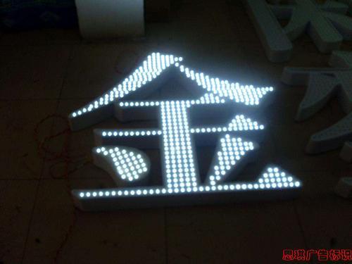 LED穿孔字发光字